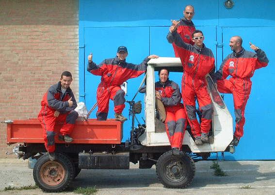 Equipe de France 2002 en Hongrie